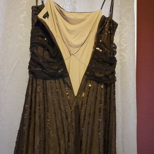 BCBGMaxAzria Dresses - Brown Vintage Style BCBG MAXAZRIA dress